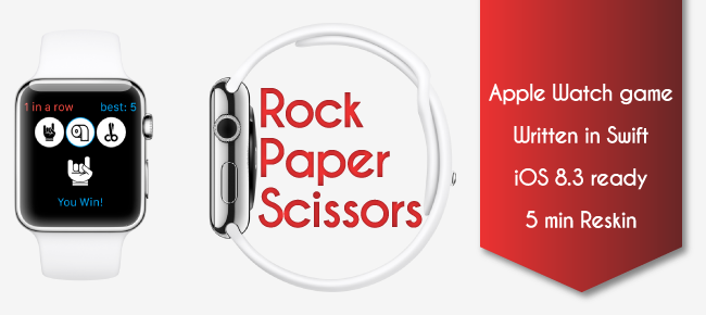 RockPaperScissors Apple Watch in Swift