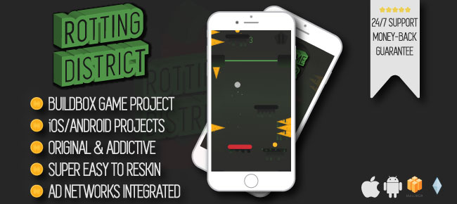 Rotting District - iOS/Android/Buildbox