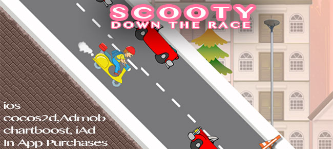 Scooty - Down The Race iOS