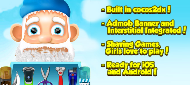 Shave Barber Shop (iOS & Android)!