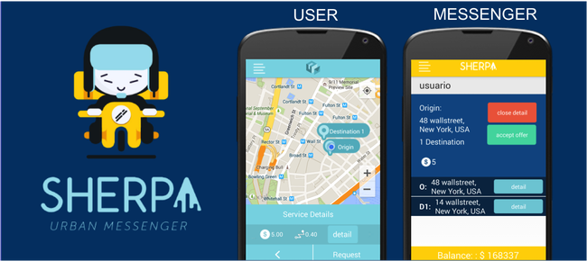 Sherpa - Urban Delivery App