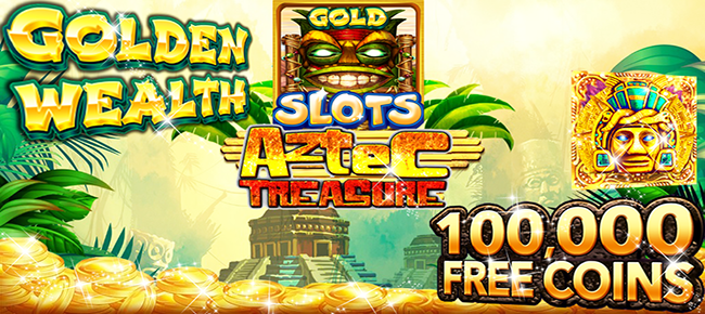 Slots! Azetc Gold Treasures Vegas Slot machine