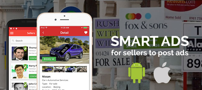 Smart Ads for Sellers, Buyers iOS