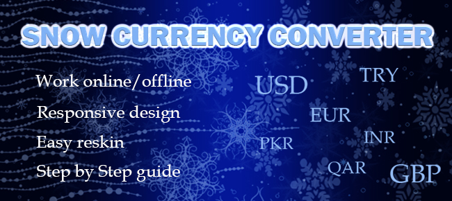 Snow Currency Converter Android App
