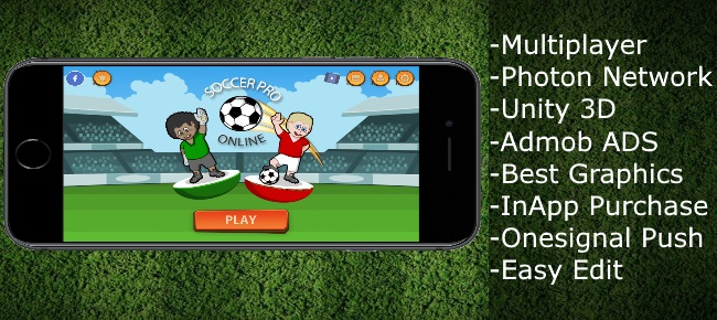Soccer Pro Online – Multiplayer Unity