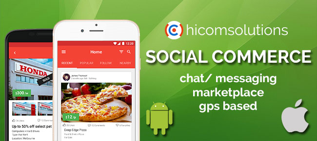 Social Commerce Marketplace Android App Template