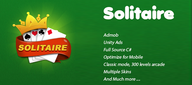 Solitaire Classic - 300 levels