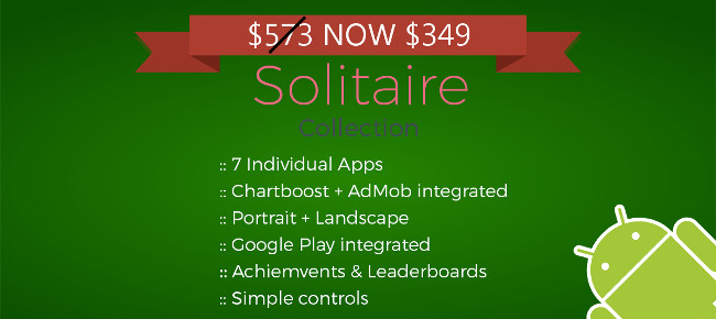Solitaire Collection (7 individual Apps)