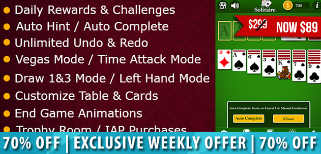 Complete Solitaire Unity Game