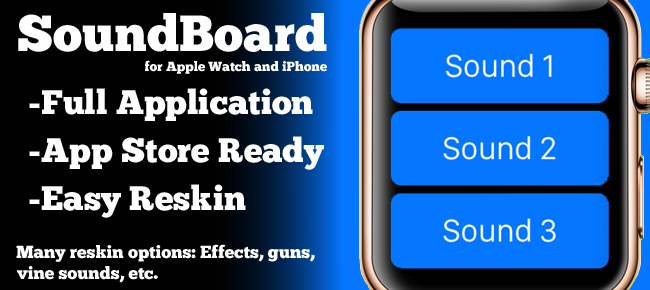 Sound Board for Apple Watch and iOS