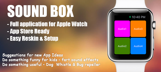 Sound Box for Apple Watch