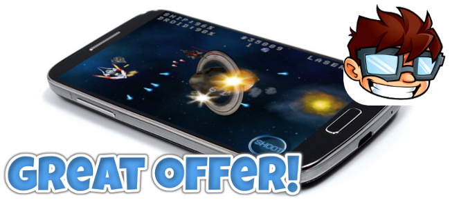 Space Shooter iOS + IN APP PURCHASE + ADMOB !!
