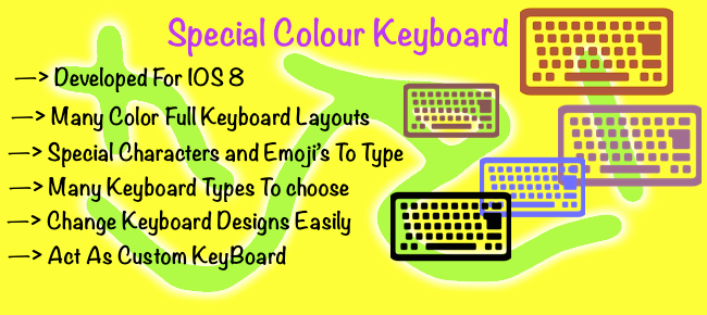 Special Color KeyBoard