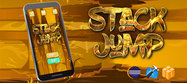 Stack Jump Android iOS Buildbox with Custom Ads