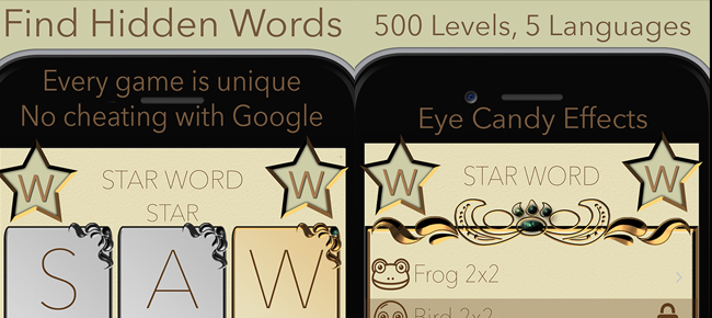 Star Word Puzzle Word Brain Game