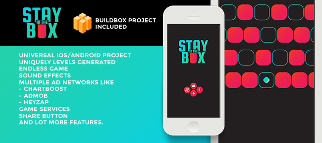 STAYInTheBOX - iOS Reskin Template with Buildbox