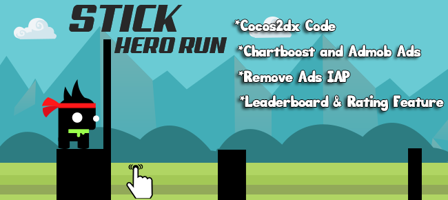 Stick Hero Run Template