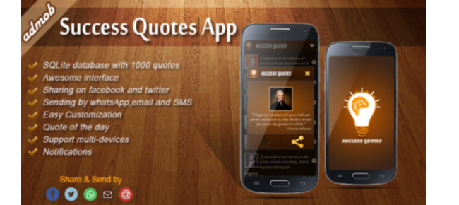 Success Quotes App with Admob