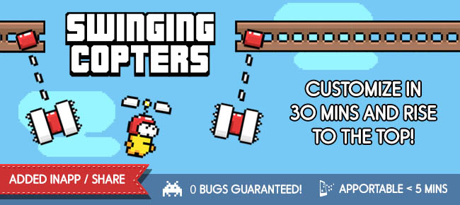 Swinging Copters
