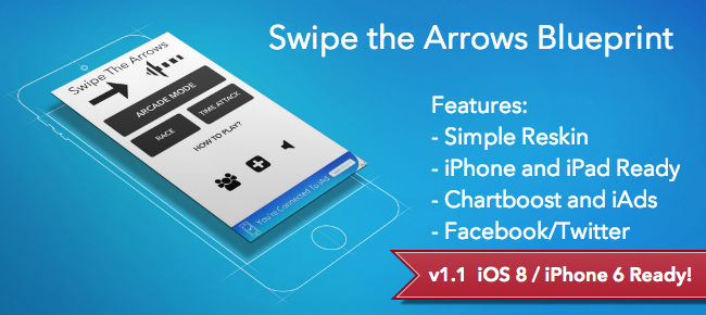Buy swipe the arrows blueprint popular app arcade for ios swipe the arrows blueprint popular app malvernweather Images