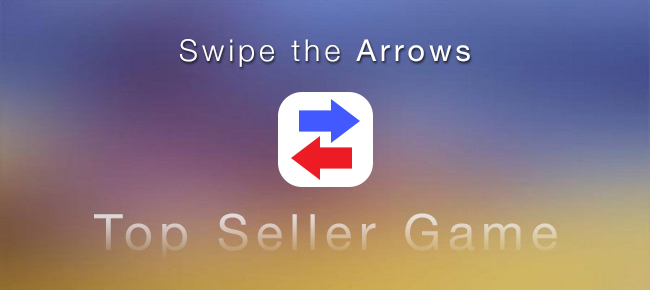 Swipe the Arrows - Simple Project