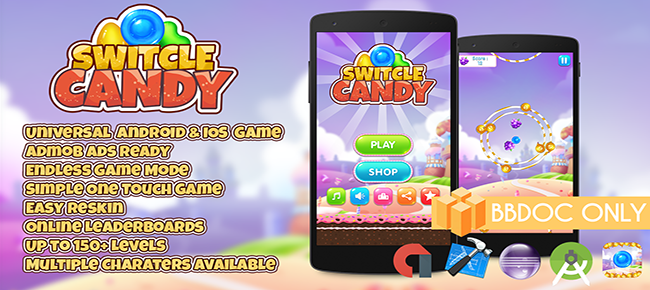 Switcle Candy - Buildbox 2.2.8 (BBDOC FILE)