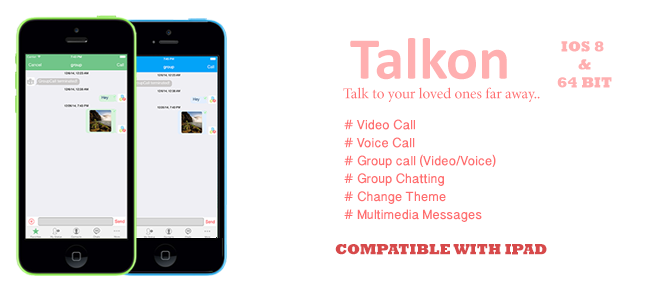 Talkon - A New Chat Experience!