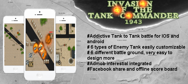 Tank Invasion War Game