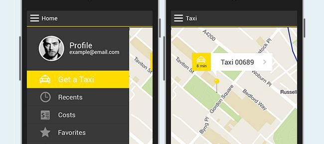 Taxi Android App Template