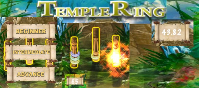 Temple Ring - Ring Toss Game