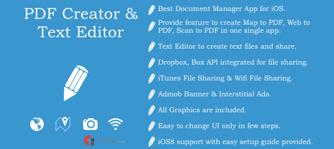 Text Editor and PDF Creator