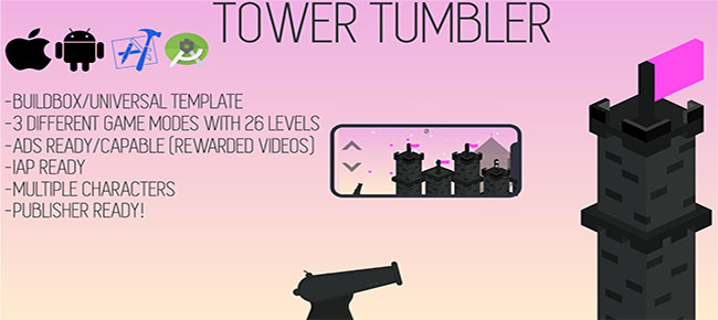 Tower Tumbler Game template
