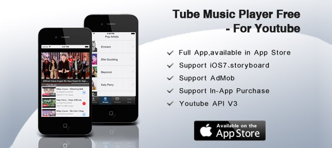 Tube Music Player Free - For Youtube