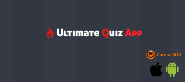 Ultimate Quiz App with Web CMS for iOS and Android