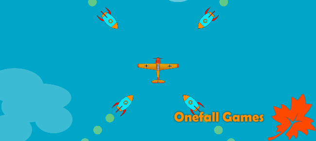Unity Game Template - Endless Missiles