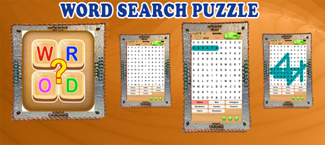 Unlimited Word Search Puzzle - Brain it Word