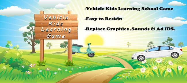 Vehicle Kids Learning Games