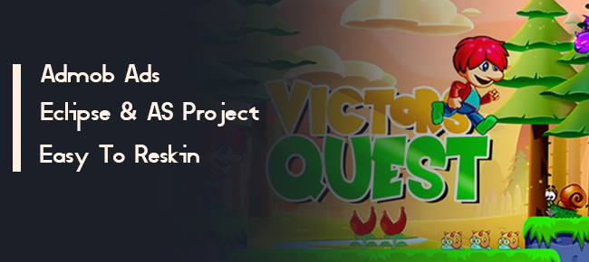 Victor's Quest - Android Platform Game, Admob Ads