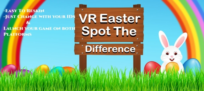VR Easter Spot The Difference - Android & iOS