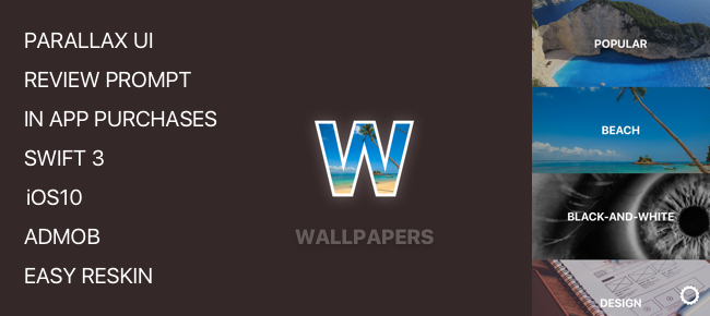 Wallpapers Unlimited for iOS10 in SWIFT 3