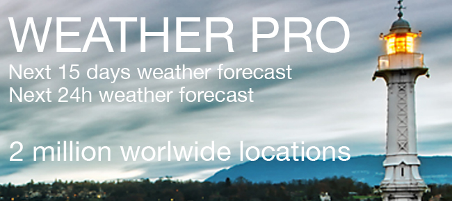 Weather Pro - Next 15 days forecast