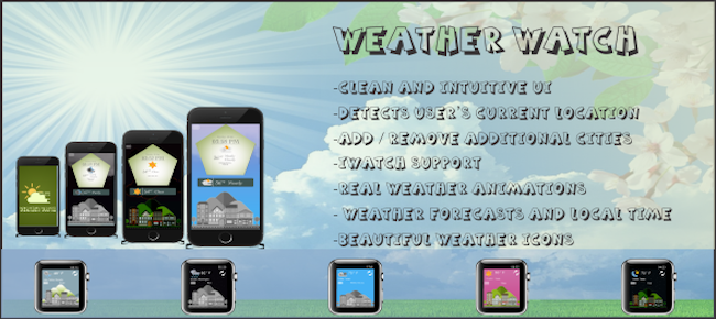 WeatherWatch: Weather app