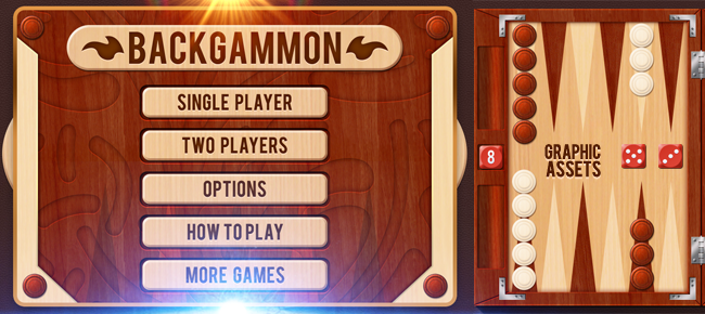 Buy Wooden Backgammon Game Set For Ui Graphic Assets Chupamobile Com