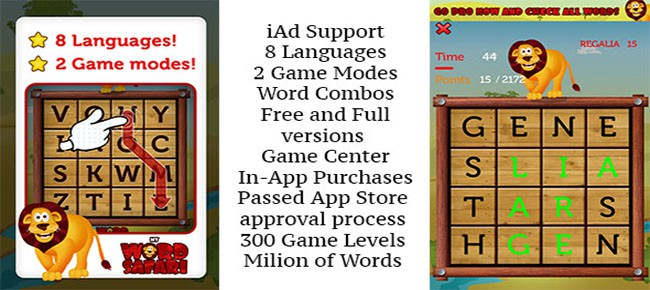 Word Slider iOS Game For iPad & iPhone