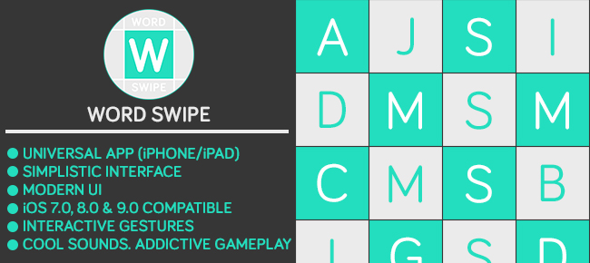 Word Swipe - A Word Search Puzzle Game
