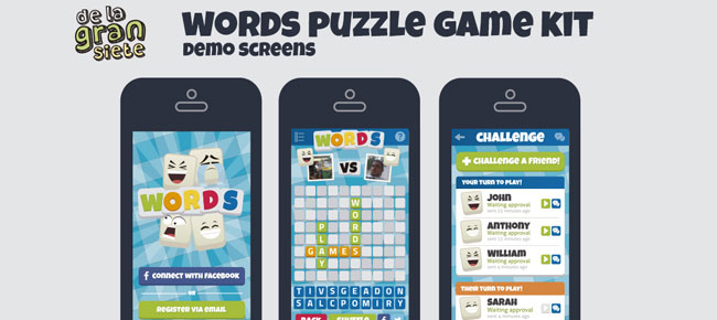 Words Puzzle Game Assets Kit -