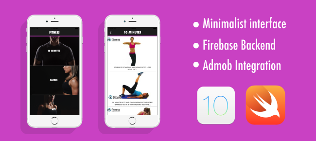 Workout App For iOS