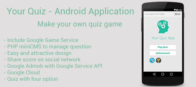 Your Quiz App - Android Source Code