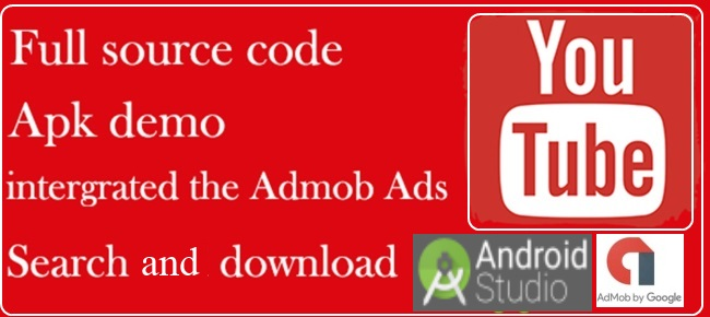 Youtube Downloader Android Source Code with Admob