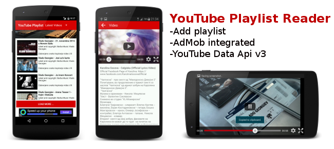 how to delete youtube playlist android